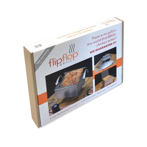Unassembled Flip Flop Grill in Box